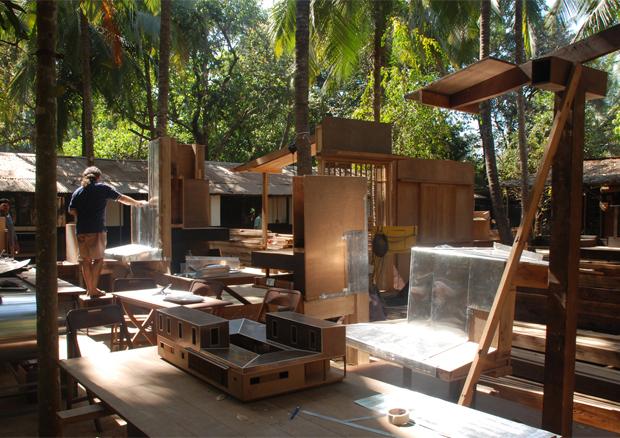 El arquitecto artesano vaumm for Spaces architecture studio delhi